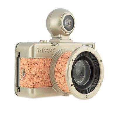 Lomography Fisheye 2 Brut Camera - side view 2