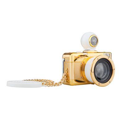 Lomography Fisheye 2 Gold Camera - side view