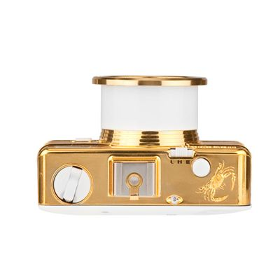 Lomography Fisheye 2 Gold Camera - top