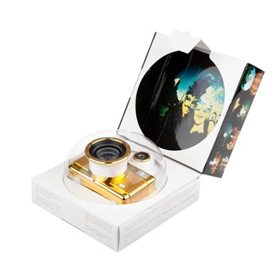 Lomography Fisheye 2 Gold Camera - box