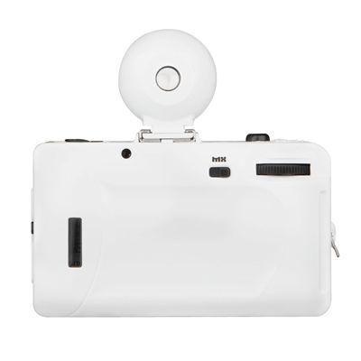 Lomography Fisheye 2 White Knight Camera - back view