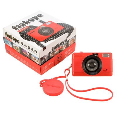 Lomography Fisheye One Camera - Red