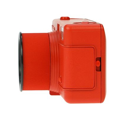 Lomography Fisheye One Camera - Red - Side View