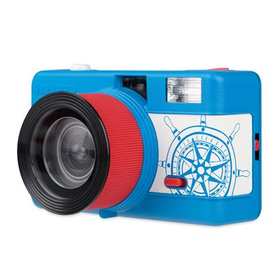 Lomography Fisheye One Camera - Blue - Site View
