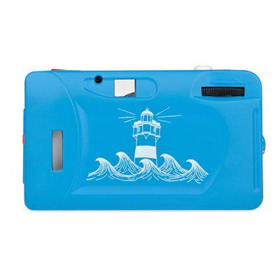 Lomography Fisheye One Camera - Blue - Back View