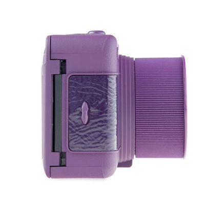 Lomography Fisheye One Camera - Purple - Side View