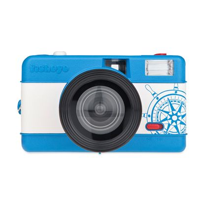 Lomography Fisheye One Camera - Blue - Front