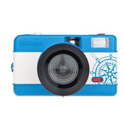 Lomography Fisheye One Camera - Blue - Front