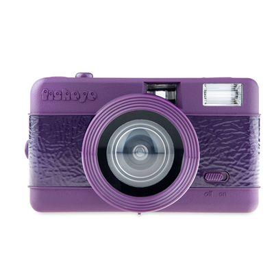 Lomography Fisheye One Camera - Purple - Front View