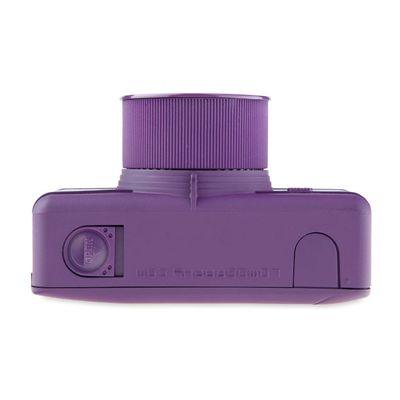 Lomography Fisheye One Camera - Purple - Bottom View