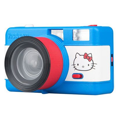 Lomography Fisheye One Hello Kitty Camera Angle View
