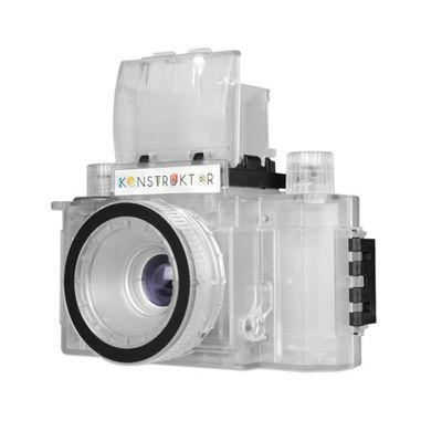 Lomography Konstruktor Transparent Collectors Edition Camera - Left Side View