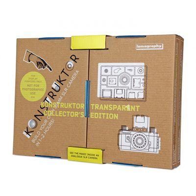 Lomography Konstruktor Transparent Collectors Edition Camera Box View