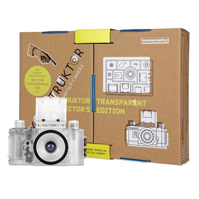 Lomography Konstruktor Transparent Collectors Edition Camera with box