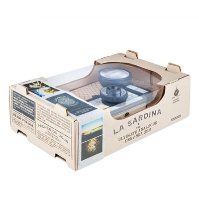 Lomography La Sardina and Flash Copernicus Camera - box