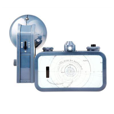 Lomography La Sardina and Flash Copernicus Camera - back view