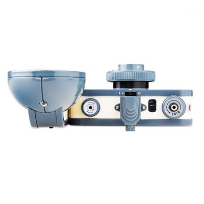 Lomography La Sardina and Flash Copernicus Camera - top view