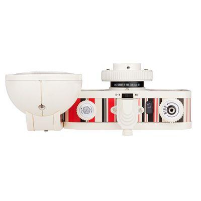 Lomography La Sardina Cubic Camera with Flash - top