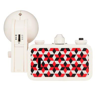 Lomography La Sardina Cubic Camera with Flash - back
