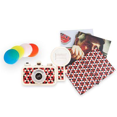 Lomography La Sardina Cubic Camera with Flash
