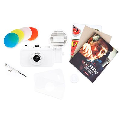 Lomography La Sardina DIY Camera with Flash - front view