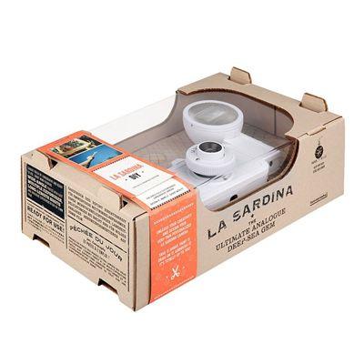 Lomography La Sardina DIY Camera with Flash - box