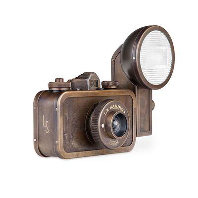 Lomography La Sardina Metal Edition Coyote Camera 1