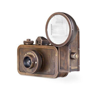 Lomography La Sardina Metal Edition Coyote Camera 4