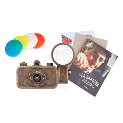 Lomography La Sardina Metal Edition Coyote Camera 6