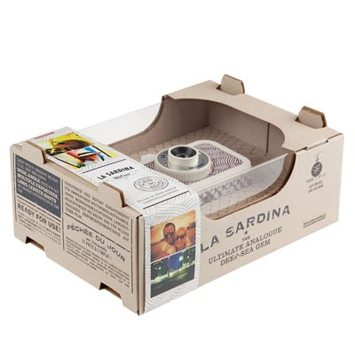 Lomography La Sardina Mobius Camera - box
