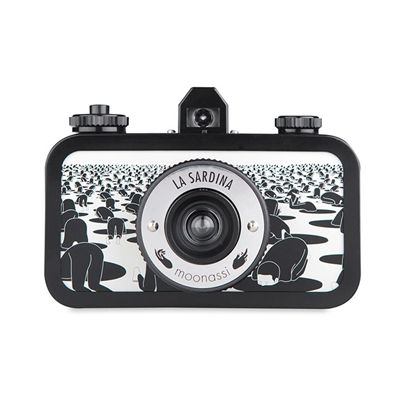 Lomography La Sardina Moonassi Camera - front view