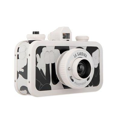 Lomography La Sardina Moonassi Camera - white