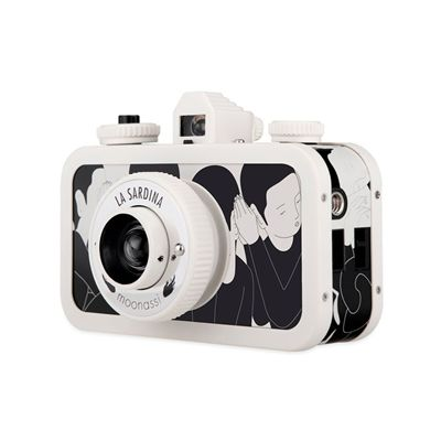 Lomography La Sardina Moonassi Camera - white side view
