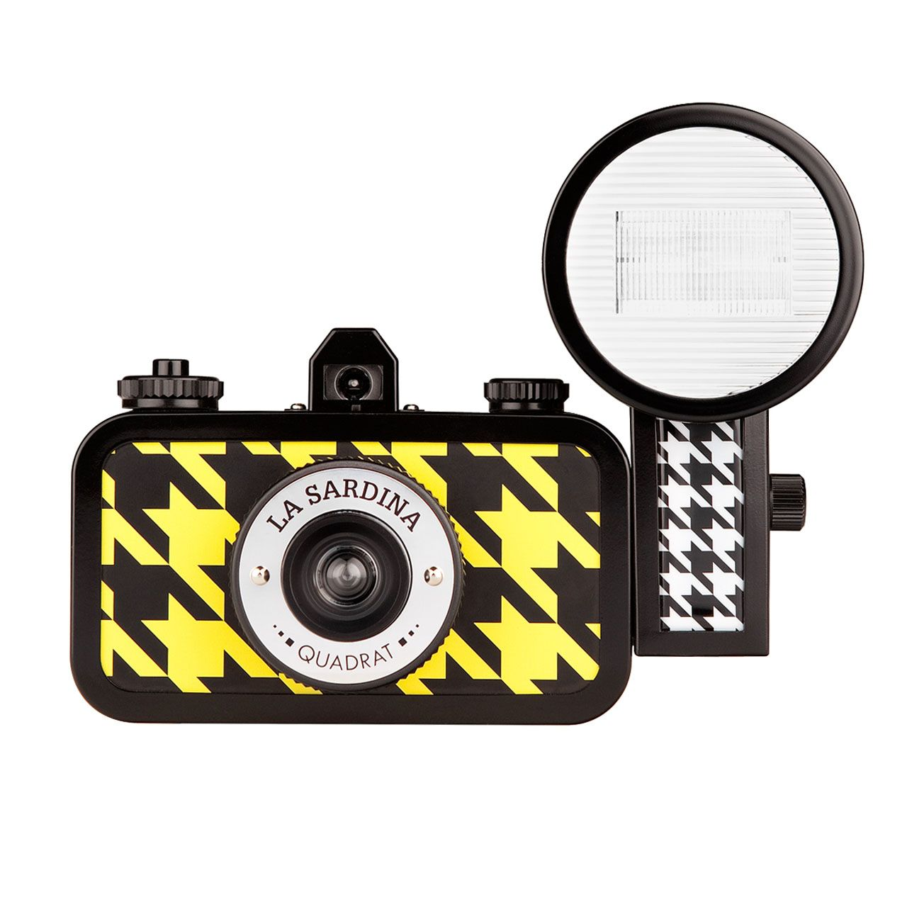 Lomography La Sardina Quadrat Camera with Flash ...