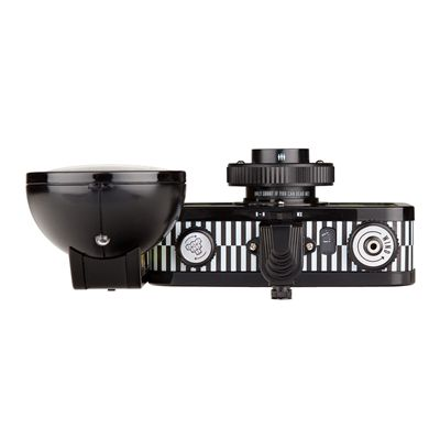 Lomography La Sardina Quadrat Camera with Flash - top
