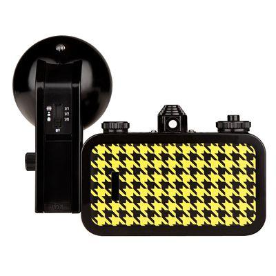 Lomography La Sardina Quadrat Camera with Flash - back view
