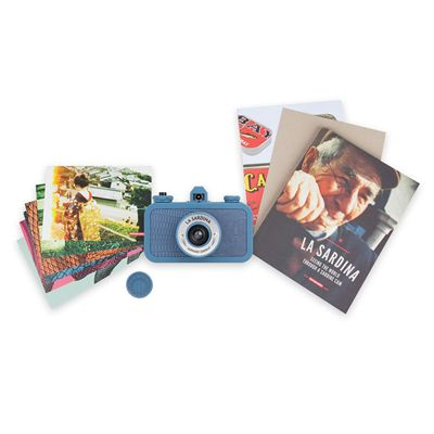 Lomography La Sardina Sapphire Serpent Camera - view with pictures