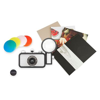 Lomography La Sardina Splendour Camera with Flash - front