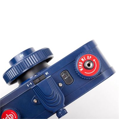 Lomography La Sardina The Guvnor Camera with Flash - top view