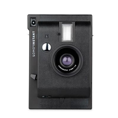 Lomography Lomo Instant Camera - Black - front view