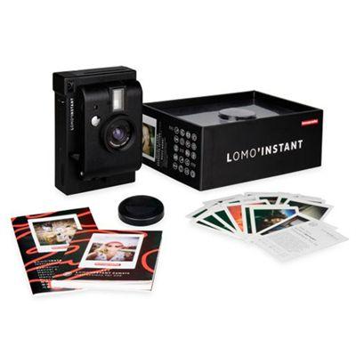 Lomography Lomo Instant Camera - Black - Package