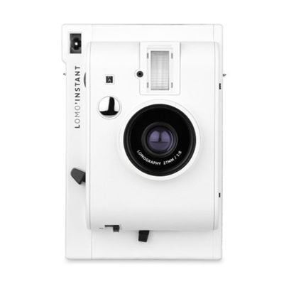 Lomography Lomo Instant Camera - White - front view