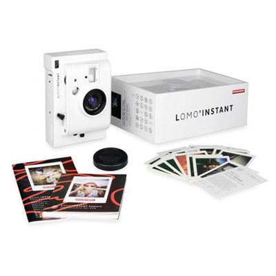 Lomography Lomo Instant Camera - White - Package