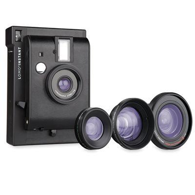 Lomography Lomo Instant Plus Three Lenses Camera - Lenses