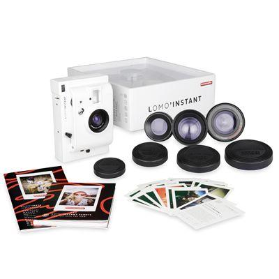 Lomography Lomo Instant Plus Three Lenses Camera - White - Box