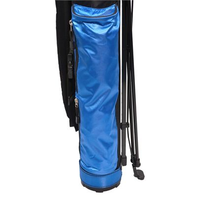 Longridge 5in Travelite Stand Bag-Black_Navy-Close View