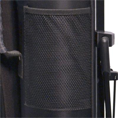 Longridge 5in Travelite Stand Bag-Black_Silver-Compartment Image