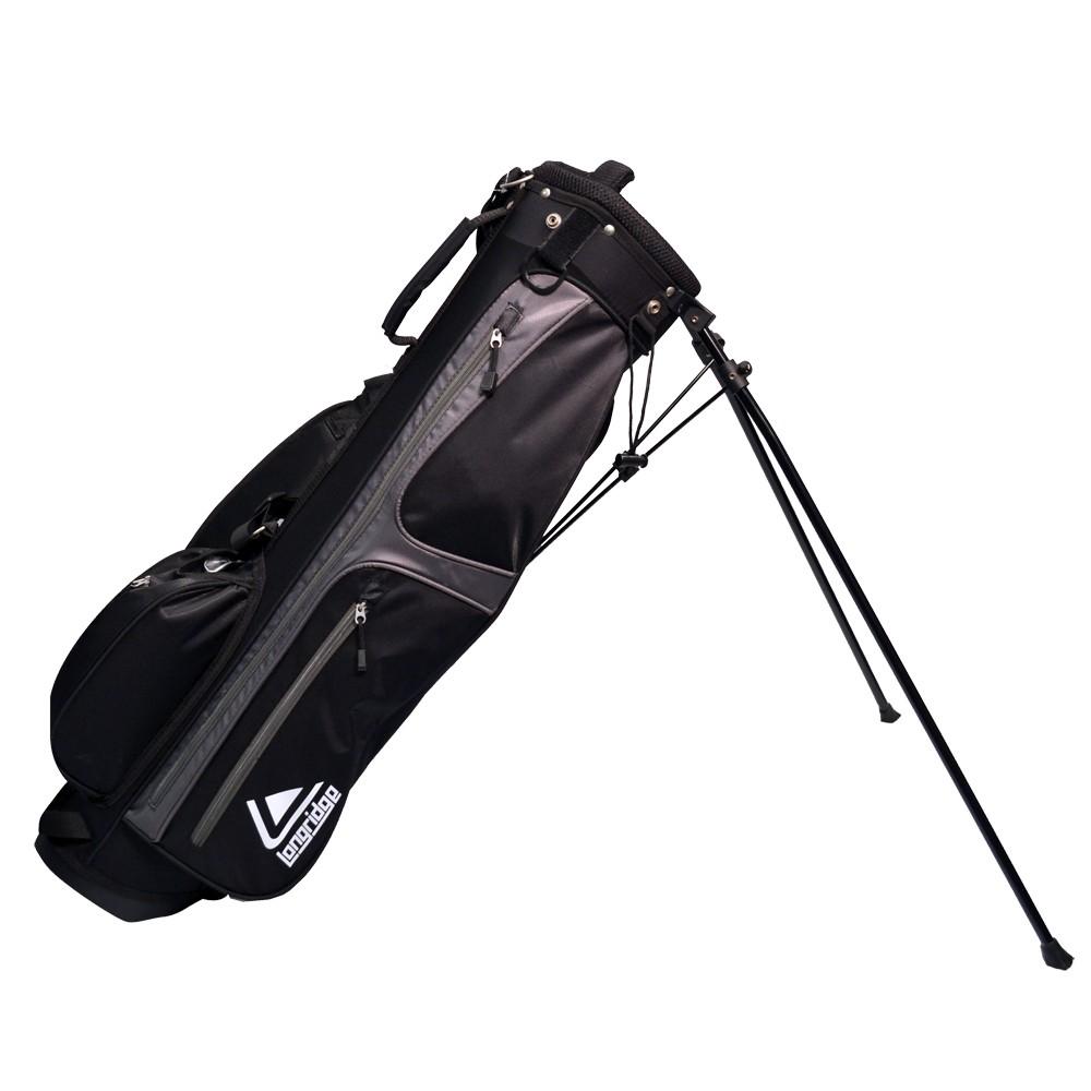Longridge 6 Weekend Stand Bag  BlackSilver