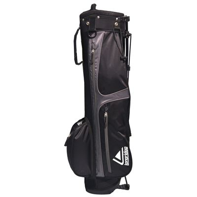 Weekend Stand Bag Black Silver Image 1
