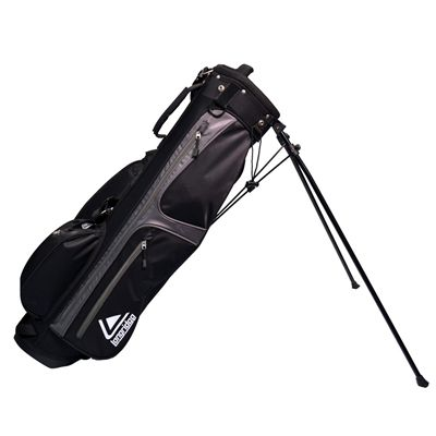 Weekend Stand Bag Black Silver Image